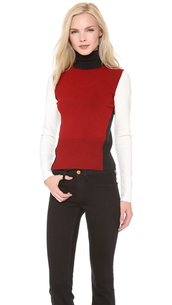 Osklen Tricolor Turtleneck Sweater