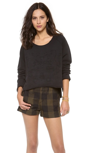 Osklen Tribal Applique Sweatshirt