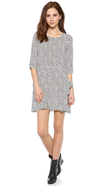 OTTE NEW YORK Printed Morgan Dress