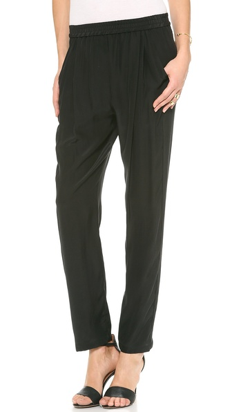 OTTE NEW YORK Solid Classic Pants