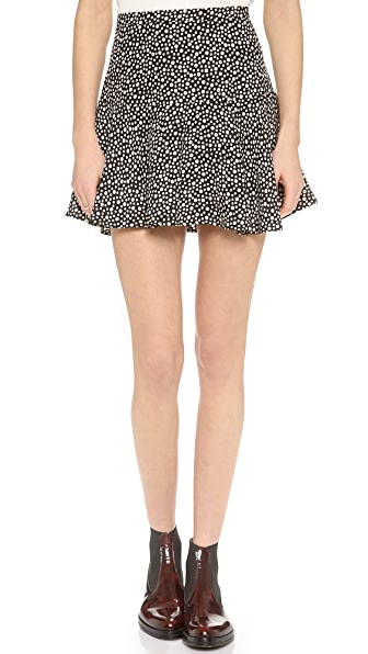 OTTE NEW YORK Printed Morgan Skirt