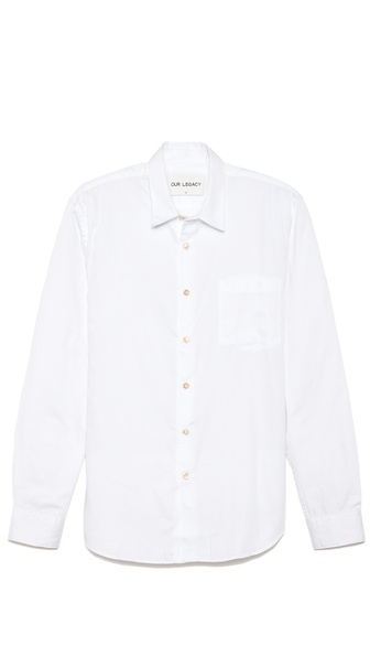 Our Legacy First Button Down Shirt