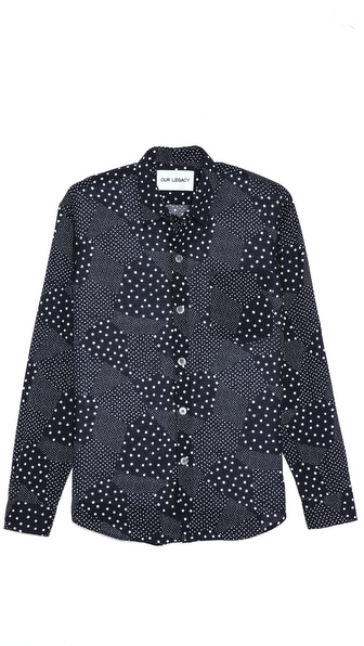 Our Legacy Dot Print Sport Shirt