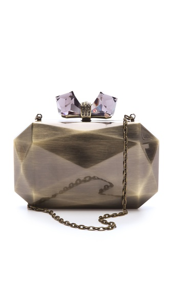 Overture Judith Leiber Danielle Faceted Clutch