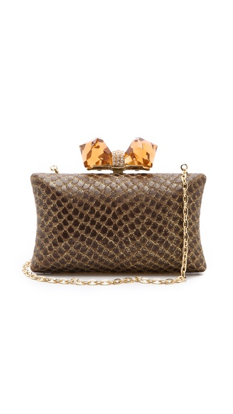 Overture Judith Leiber Kayla Snake Mini Clutch