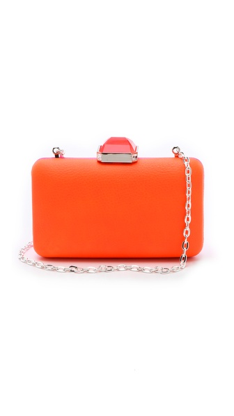 Overture Judith Leiber Jamie Neon Colorblock Clutch