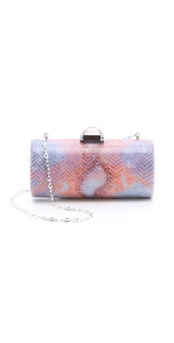 Overture Judith Leiber Megan Cylinder Clutch at Shopbop.com