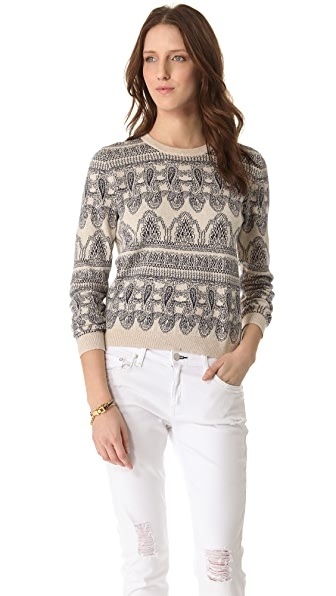Paul & Joe Sister Paisley Sweater