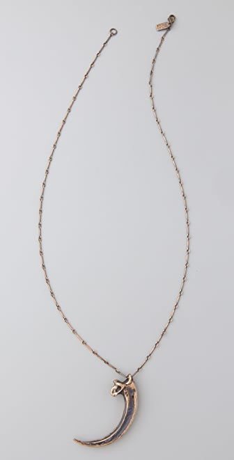 Pamela Love Eagle Claw Large Necklace