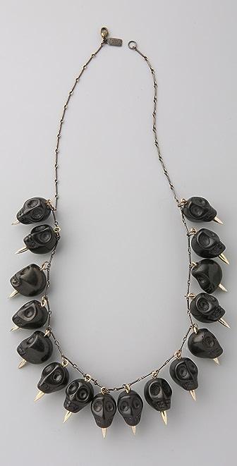 Pamela Love 16 Skull Necklace