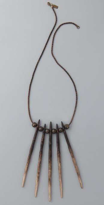 Pamela Love Porcupine Needle Necklace