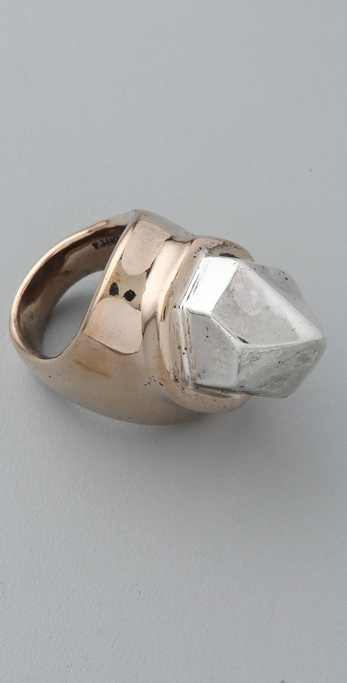 Pamela Love Single Crystal Ring