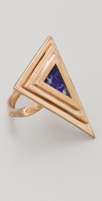 Pamela Love Pyramid Ring