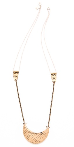Pamela Love Basket Necklace