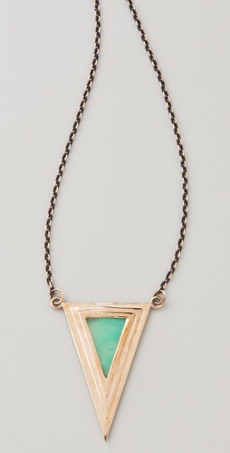 Pamela Love Pyramid Pendant