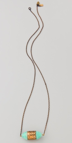 Pamela Love Small Ellipse Necklace