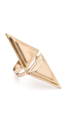 Pamela Love Double Pyramid Ring