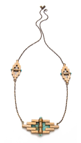 Pamela Love Empire Reflection Necklace