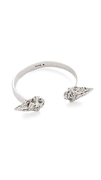 Pamela Love Double Mini Arrowhead Cuff