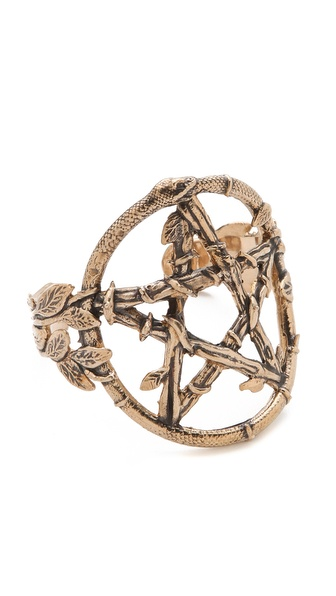 Pamela Love Snake Pentagram Cuff