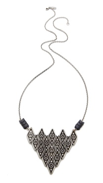 Pamela Love Oculus Pyramid Pendant Necklace