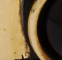 Brass/Black Agate