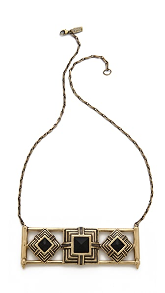 Pamela Love Step Breastplate Necklace