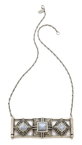 Pamela Love Step Breastplate Necklace