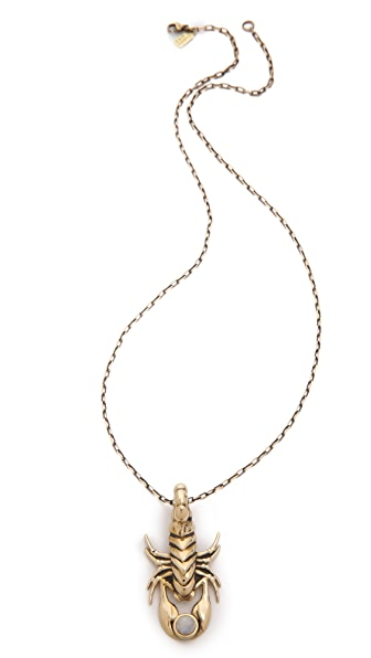 Pamela Love Alacran Stone Pendant Necklace