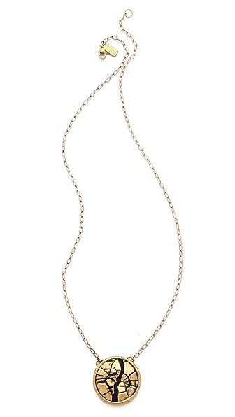 Pamela Love Titan Medallion Pendant Necklace