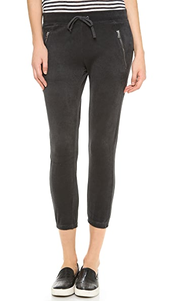 Pam & Gela Zip Detail Crop Pants