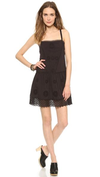 Pam & Gela Drop Waist Dress