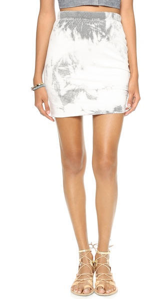 Pam & Gela Side Ruched Skirt