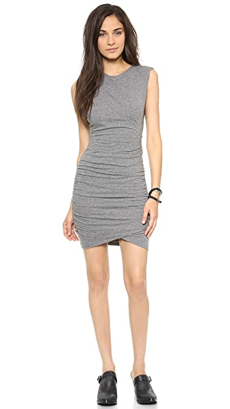 Pam & Gela Twisted Jersey Dress