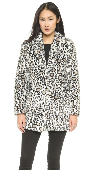 Pam & Gela Faux Fur Coat