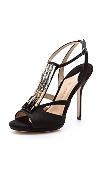 Paul Andrew Calliope Crystal Sandals