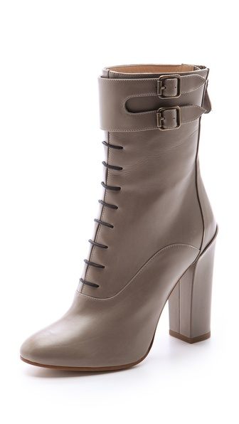 Paul Andrew Orion Lace Up Booties