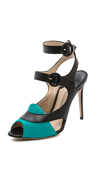 Paul Andrew Sentinel Heeled Sandals