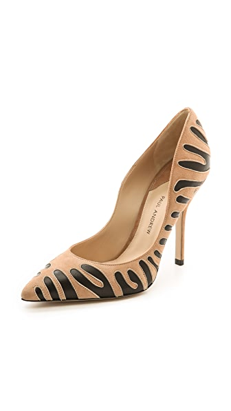 Paul Andrew Tigrado Suede Pumps