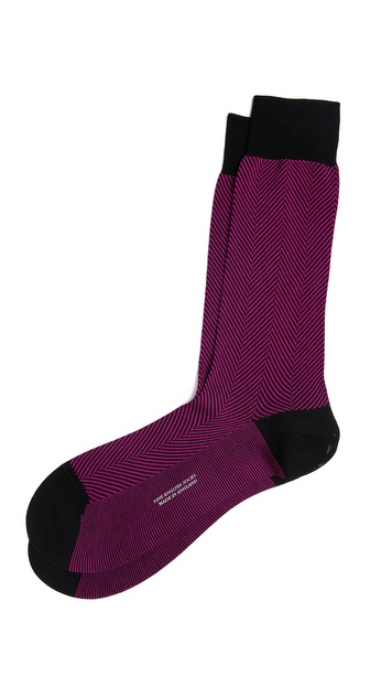 Pantherella Herringbone Socks