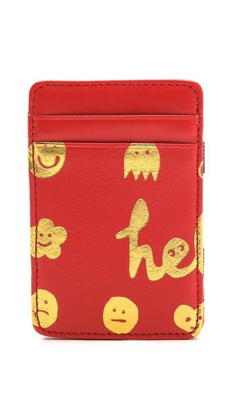 Paris House Hello Elastic Card Case