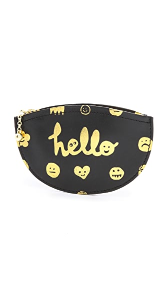 Paris House Hello Coin Purse