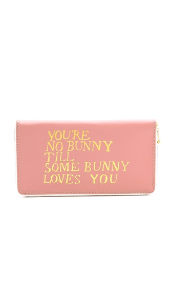 Paris House You're No Bunny Travel Wallet