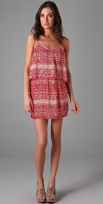 Parker Print Pleated Dress