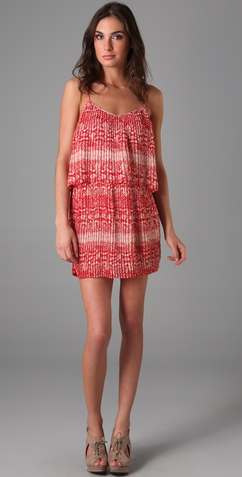 Parker Print Pleated Dress
