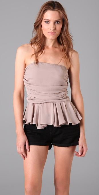 Parker Strapless Top