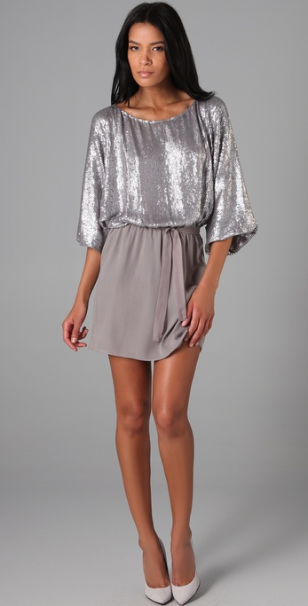 Parker Allover Sequins Dress