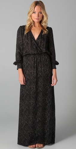 Parker Long Sleeve Maxi Dress