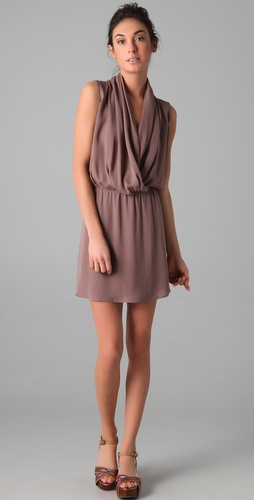 Parker Draped Front Dress