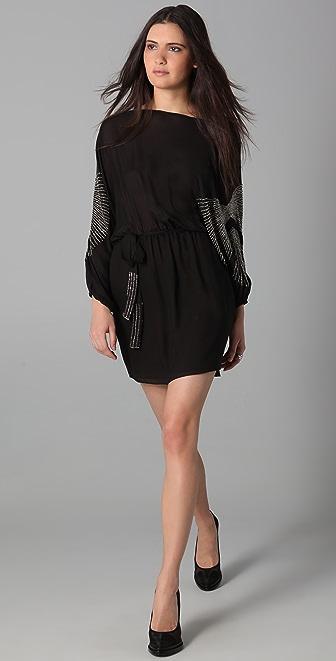 Parker Sprinkle Beads Batwing Dress